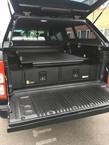 Ford Ranger | Gearmate 226MM Twin Drawer & Infill Pods & Gearslide top