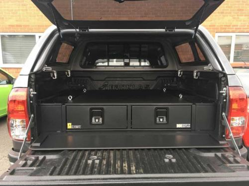 Toyota Hilux | 226MM Twin Drawer & Infill Pods & Gearslide Top