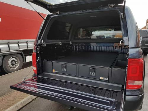 Volkswagen Amarok | Gearmate 226MM Twin Drawer & Infill Pods & Tailgate Gap Flap