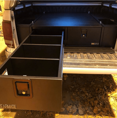 Volkswagen A,marok | Gearmate 226MM Twin Drawers & Infill Pods & Tailgate Gap Flap
