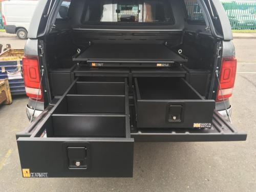 Volkswagen Amarok | 226MM Twin Drawer, Infill Pods, Tailgate Gap Flap