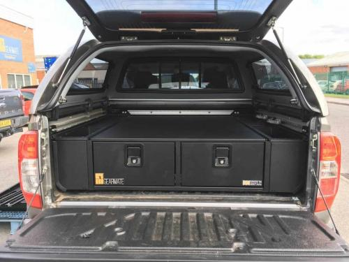 Nissan Navara | 300MM Twin Drawers & Infill Pods & Gearslide Top