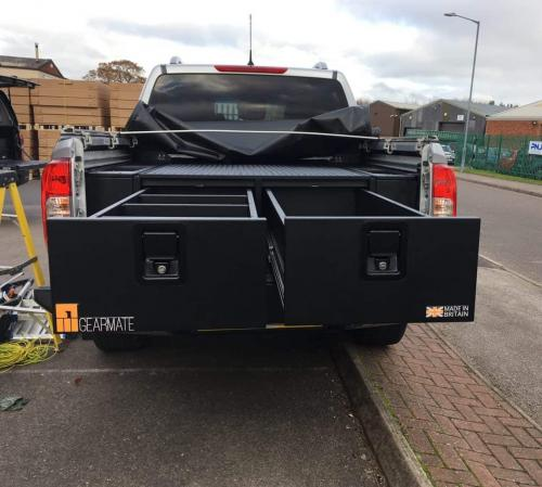 Nissan Navara | Gearmate 300MM Twin Drawers & Infill Pods & Tailgate Gap Flap