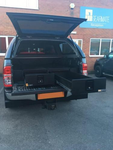 Toyota Hilux | Gearmate 226MM Twin Drawers & Infill Pods & Tailgate Gap Flap