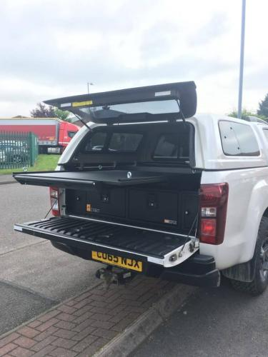 Isuzu D-Max | 300MM Twin Drawers & Infill pods & Locking pods