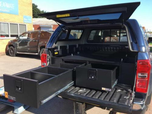 Isuzu D-Max | 300MM Twin Drawers & Infill Pods & Tailgate Gap Flap