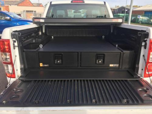 Ford Ranger | 226MM Twin Drawer & Infill Pods & Tailgate Gap Flap