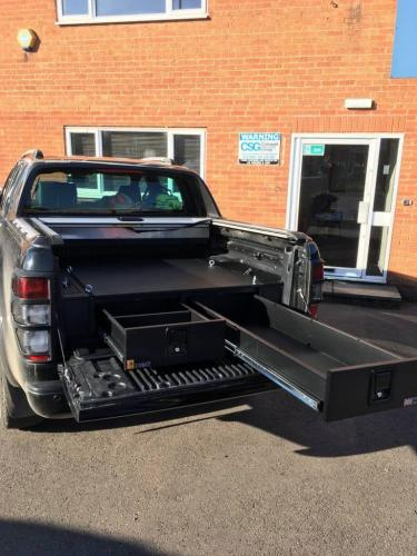 Ford Ranger | Gearmate 226MM Twin Drawers & Infill Pods & Tailgate Gap Glap