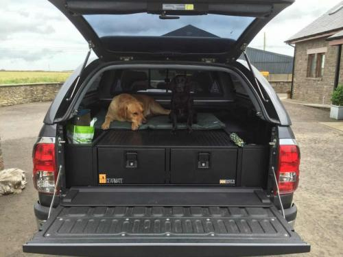 Toyota Hilux | Heavy Duty 300MM Twin Drawers & Infill Pods
