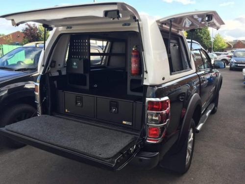 Ford Ranger | 300MM Twin Drawers & Infill pods & Racking