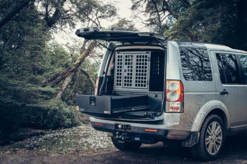 Defender 4 | Single Drawers & Extended Box & Dog Box