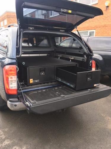 Nissan Navara | 300MM Twin Drawers