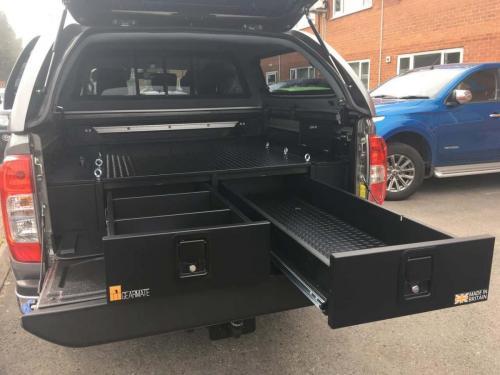 Nissan Navara | 226MM Twin Drawer & Infill Pods & Tailgate Gap Flap
