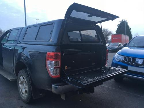Ford Ranger | 300MM Twin Drawers & Infill Pos & Tailgate Gap Flap & Narrow Slide & Sliding Windows Hardtop