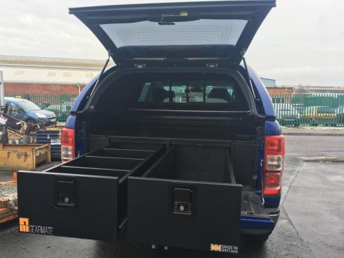 Nissan Navara | 300MM Twin Drawers & Infill Pods
