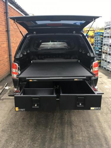 Mitsubishi L200 | 226MM Twin Drawers & Infill Pods & Gearslide top