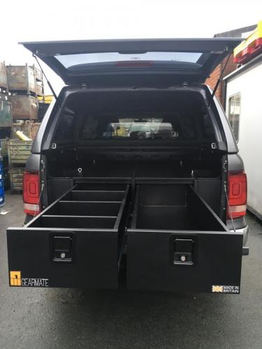 Volkswagen Amarok | 300MM Twin Drawers & Infill Pods & Tailgate Gap Flap