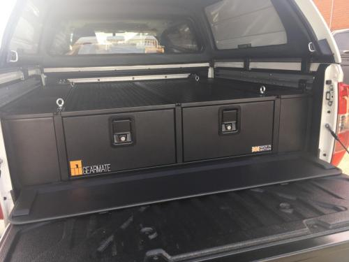 Nissan Navara | 300MM Twin Drawer & Infill Pods & Tailgate Gap Flap