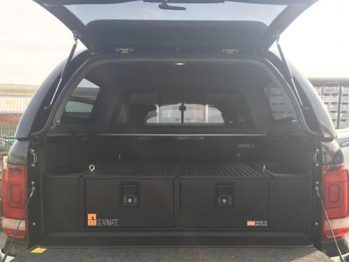 Volkswagen Amarok | 300MM Twin Drawer, Infill Pods, Tailgate Gap Flap