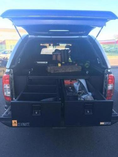 Nissan Navara | 300MM Twin Drawer, Infill Pods