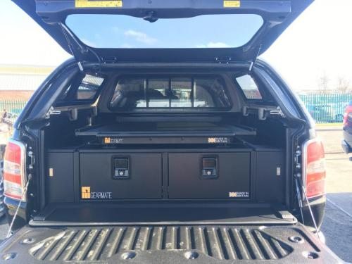 Mitsubishi L200 | 300MM Twin Drawer, Infill Pods, Tailgate Gap Flap and Gearslide top