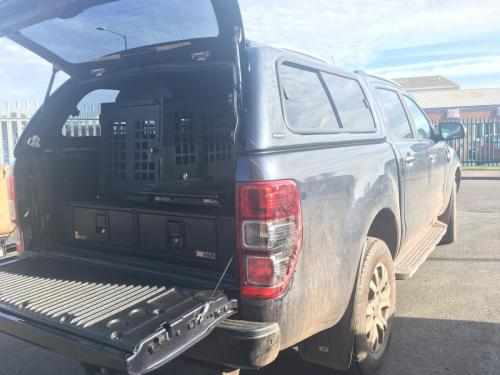 Ford Ranger | 226MM Twin Drawer, Infill Pods, Narrow Slide, Dog Box