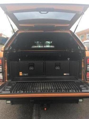 Ford Ranger | 300MM Twin Drawer, Infill Pods and Tailgate Gap Flap