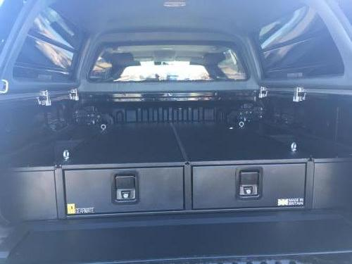 Toyota Hilux | 226MM Twin Drawer, Infill Pods, Tailgate Gap Flap