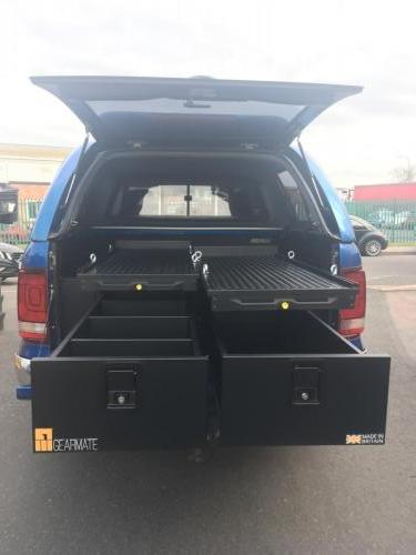 Volkswagen Amarok | 300MM Twin Drawer, Infill Pods, Tailgate Gap Flap, 2 narrow slides